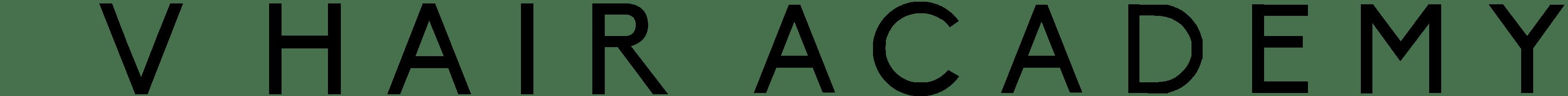 VHair Academy Logo Head Dark with gap